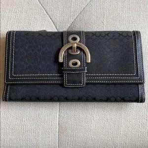 Coach try fold wallet